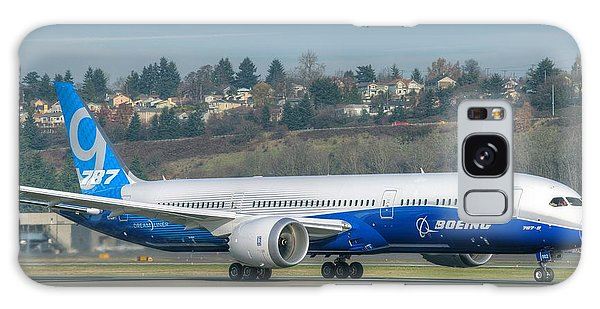 Boeing 787-9 Takeoff Galaxy Case