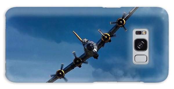 Airplanes Galaxy Case - Boeing B-17 Flying Fortress by Adam Romanowicz
