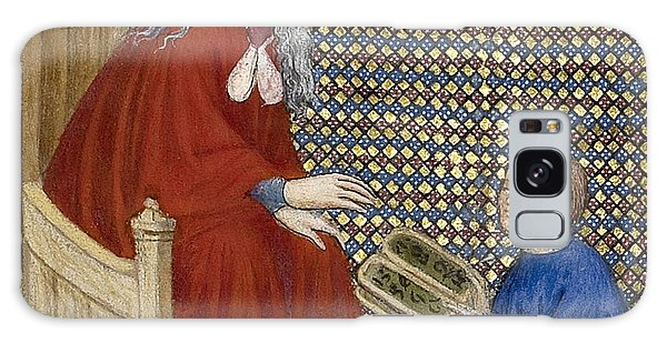 Art Institute Galaxy Case - Boethius Instructs Boy In Arithmetic by Getty Research Institute