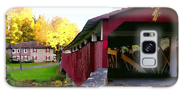 Bogerts Covered Bridge Allentown Pa Galaxy Case