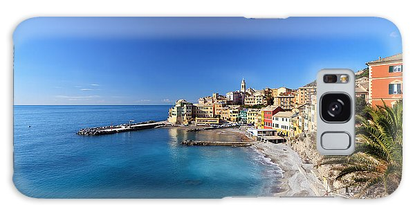 Bogliasco Village. Italy Galaxy Case