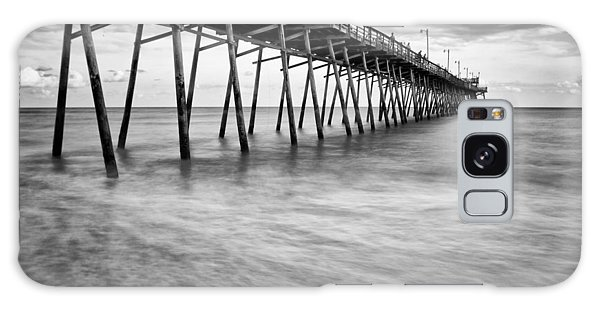Bogue Inlet Fishing Pier #1 Galaxy Case