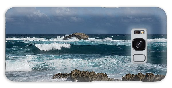 Boiling The Ocean At Laie Point - North Shore - Oahu - Hawaii Galaxy Case