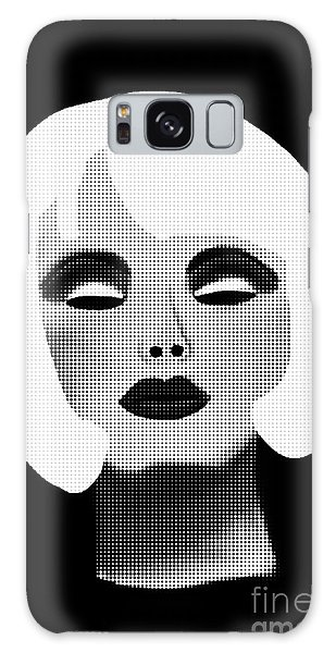 Bold Blonde Beauty Galaxy Case