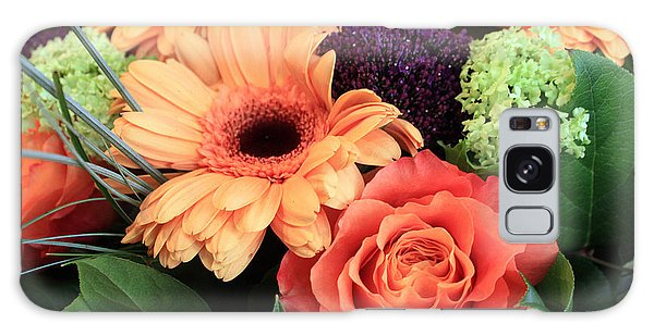 Bold Bouquet Galaxy Case by Gerry Bates