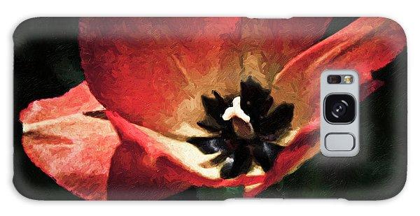 Bold Springtime Tulip Galaxy Case