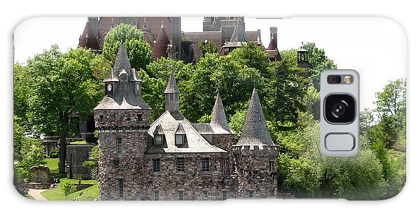 Boldt Castle And Powerhouse Galaxy Case by Rose Santuci-Sofranko