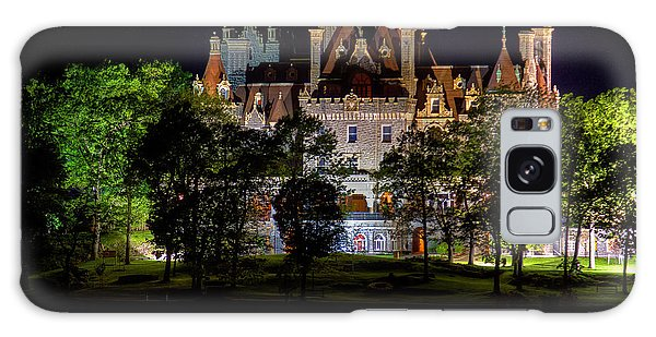 Boldt Castle On Heart Island Galaxy Case