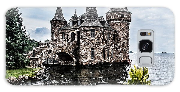 Boldt's Castle Tower Galaxy Case by Debbie Green