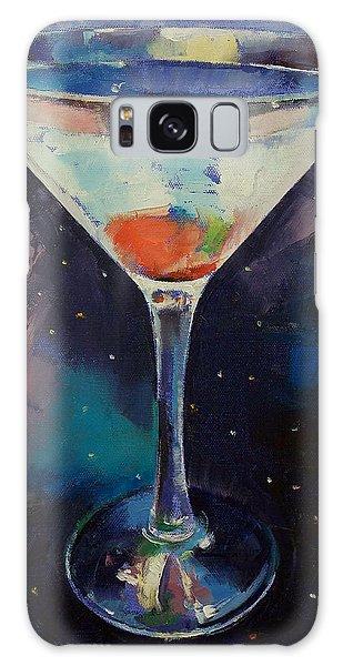 Bombay Sapphire Martini Galaxy Case