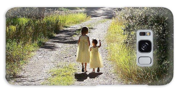 Bond Between Sisters Galaxy Case