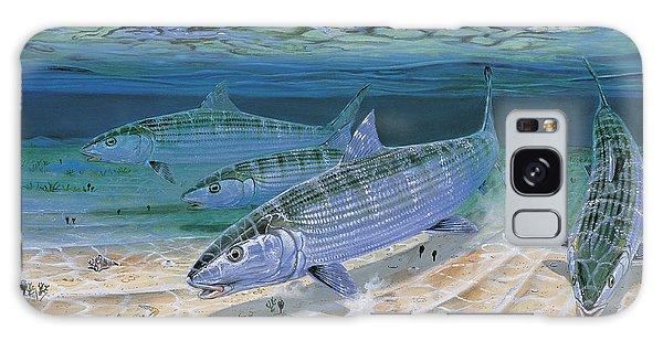 Bonefish Flats In002 Galaxy Case by Carey Chen