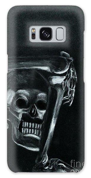 Bones Galaxy Case by Ayasha Loya