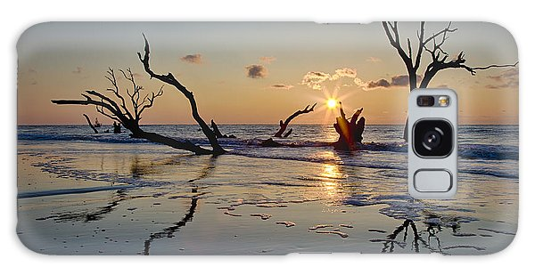 Boneyard Beach Sunrise Galaxy Case