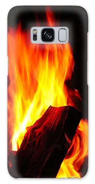 Galaxy Case - Bonfire by Frank Savarese