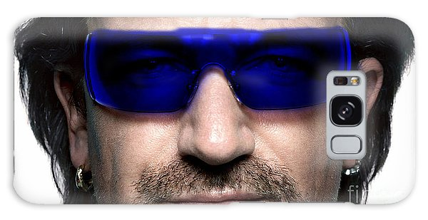 Bono Of U2 Galaxy Case by Marvin Blaine