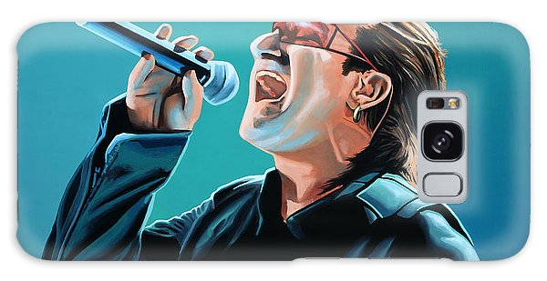 U2 Galaxy Case - Bono Of U2 Painting by Paul Meijering
