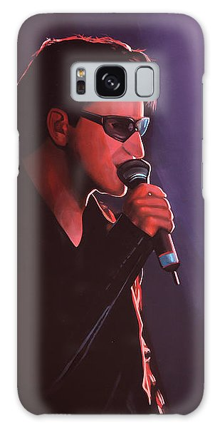 U2 Galaxy Case - Bono U2 by Paul Meijering