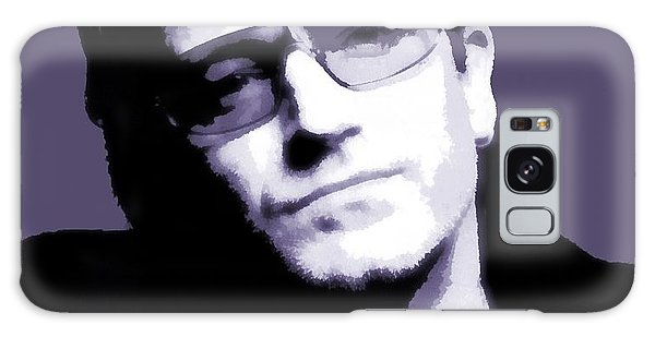 Bono Portrait Galaxy Case by Dan Sproul