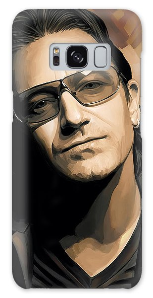 U2 Galaxy Case - Bono U2 Artwork 2 by Sheraz A
