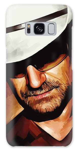 U2 Galaxy Case - Bono U2 Artwork 3 by Sheraz A