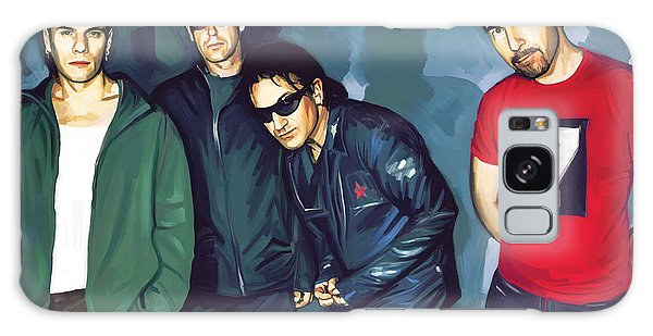 U2 Galaxy Case - Bono U2 Artwork 5 by Sheraz A