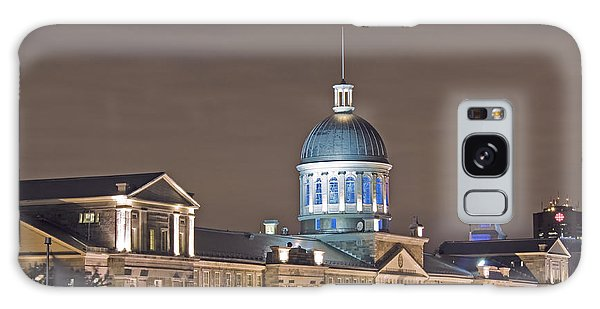 Bonsecours At Night Galaxy Case