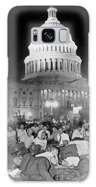Bonus Army Sleeps At Capitol Galaxy Case by Underwood Archives