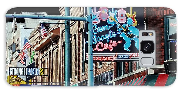 Boogie On Beale St Memphis Tn Galaxy Case