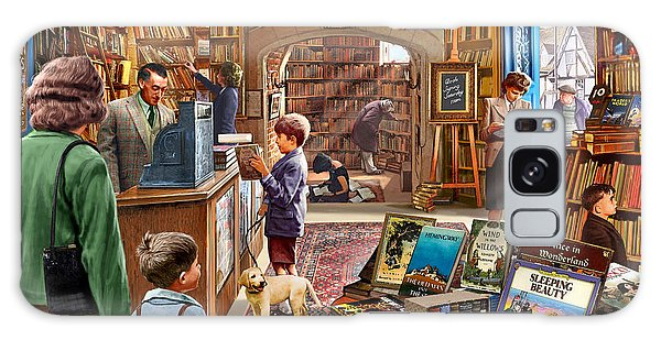 Bookshop Galaxy Case by Steve Crisp