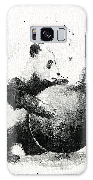 Cannon Galaxy Case - Boom Panda by Olga Shvartsur