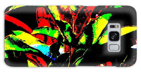 Booming Colors Galaxy Case by Gayle Price Thomas