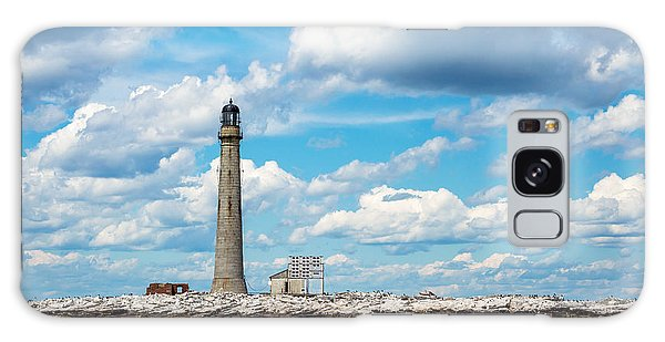 Boon Island Light Station Galaxy Case by James  Meyer
