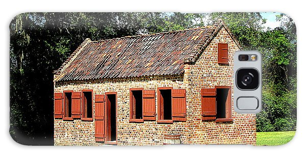 Boone Hall Plantation Slave Quarters Galaxy Case