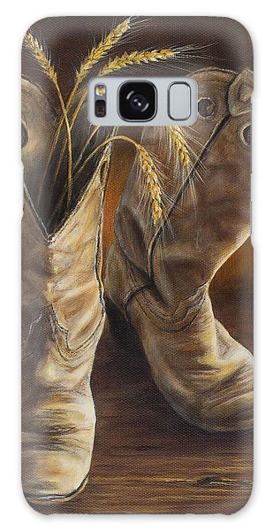 Boots And Wheat Galaxy Case
