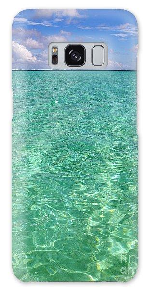 Bora Bora Green Water II Galaxy Case