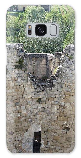 Bordeaux Castle Ruins With Vineyard Galaxy Case