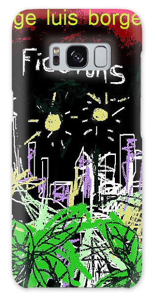 Borges Fictions Poster  Galaxy Case