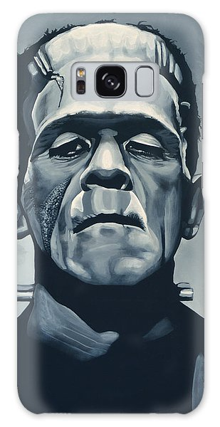 Galaxy Case - Boris Karloff As Frankenstein  by Paul Meijering