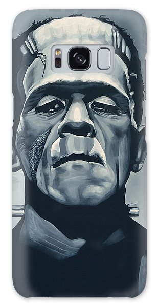 Boris Karloff As Frankenstein  Galaxy Case by Paul Meijering