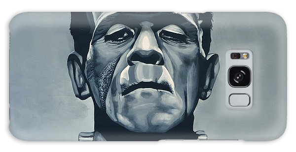 People Galaxy Case - Boris Karloff As Frankenstein  by Paul Meijering