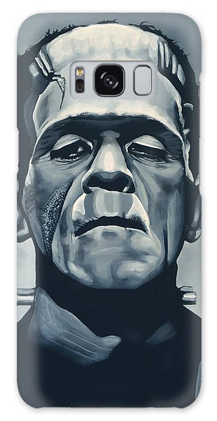 Movie Galaxy Case - Boris Karloff As Frankenstein  by Paul Meijering