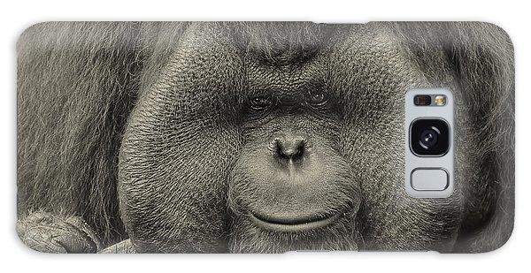 Bornean Orangutan II Galaxy Case by Lourry Legarde
