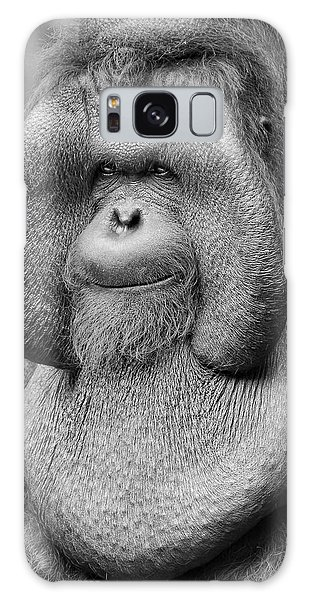 Bornean Orangutan IIi Galaxy Case by Lourry Legarde