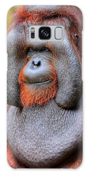 Bornean Orangutan Iv Galaxy Case by Lourry Legarde