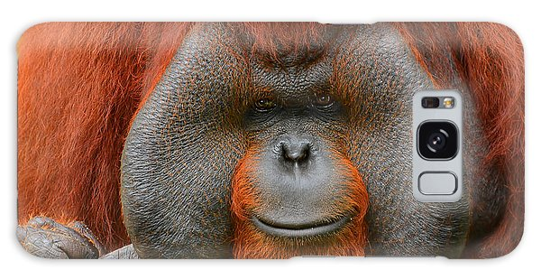 Bornean Orangutan Galaxy Case by Lourry Legarde