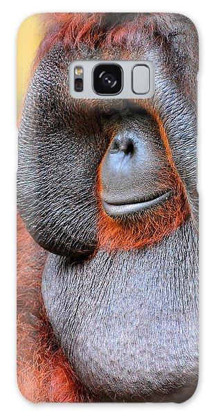 Bornean Orangutan Vi Galaxy Case by Lourry Legarde