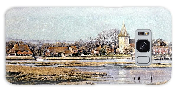 Bosham Harbour Galaxy Case by Rosemary Colyer