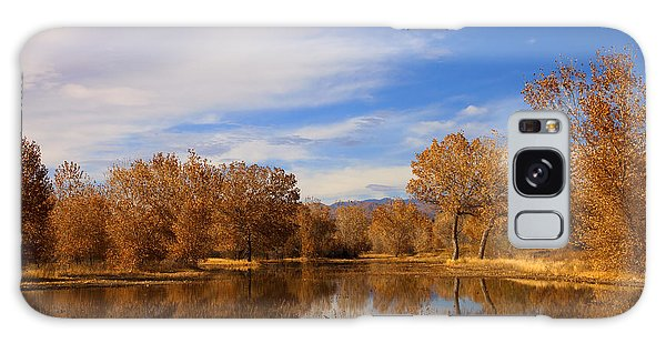 New Leaf Galaxy Case - Bosque Del Apache Reflections by Mike  Dawson