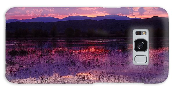Bosque Sunset - Purple Galaxy Case by Steven Ralser